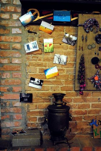 """Наші душевні листівки в Арт-кафе """"Старе місто"""""""
