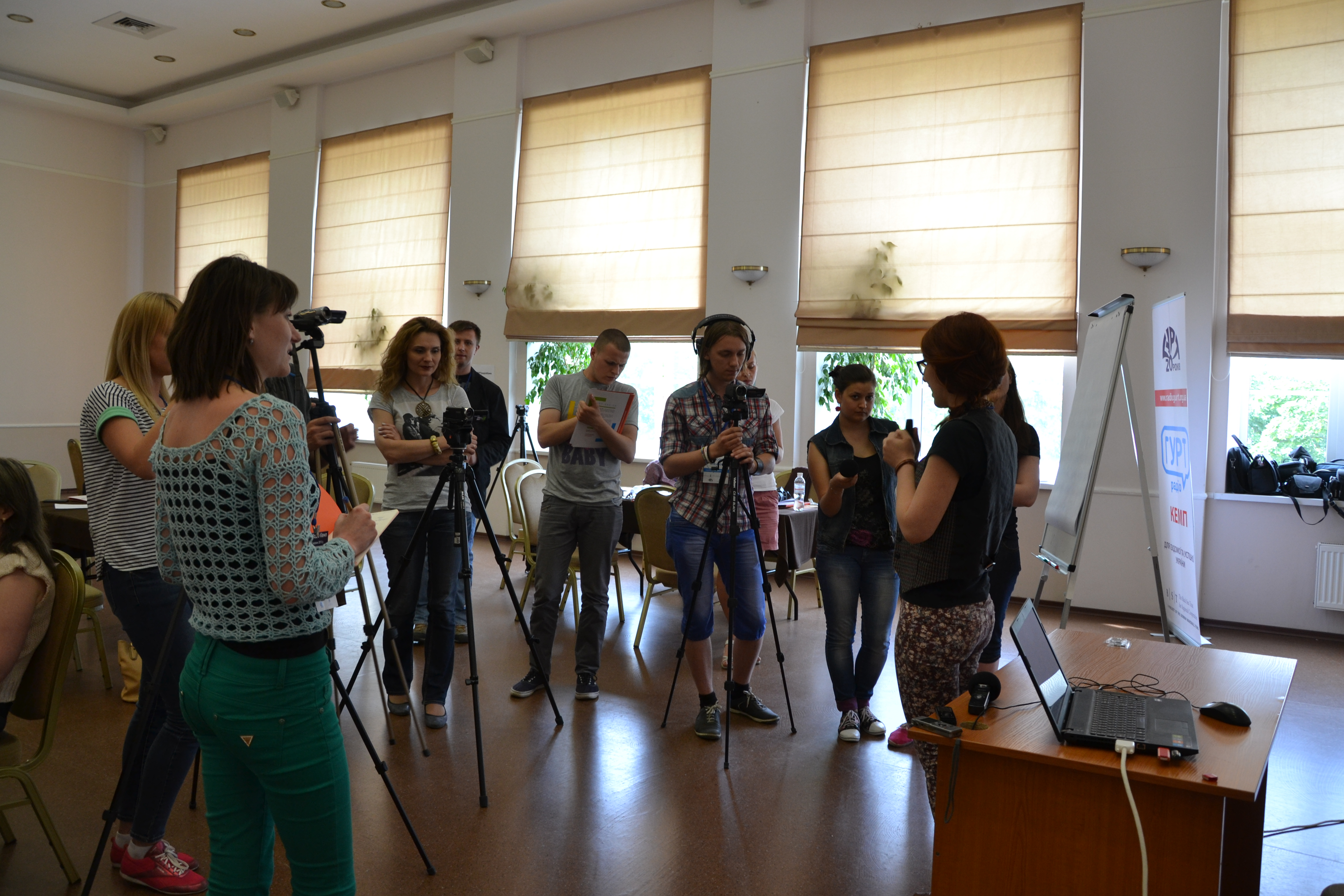 ГУРТ Радіо Кемп: суспільна журналістика