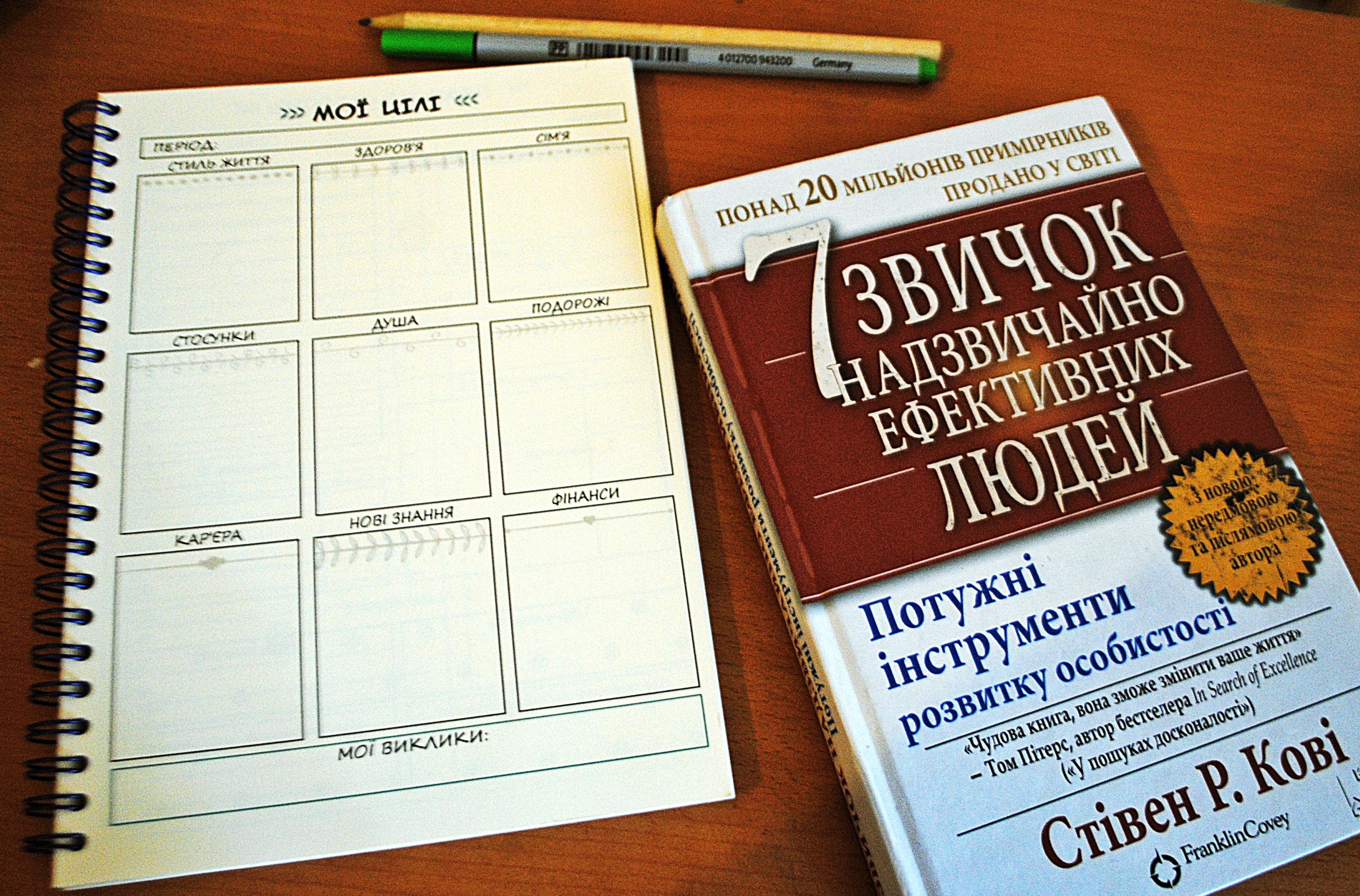Стівен Кові та найскладніша книжка в моєму житті… (Частина 1)